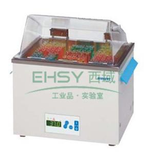 磁驱搅拌水浴,Wiggens,WHMIX Drive 1 eco HT,温度范围:+5~99.9℃,槽开口尺寸:150x130/110mm