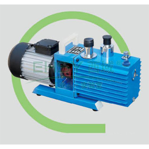 真空泵,直联旋片式,含强制防返油装置,2XZ-4C,单相,抽气速度:4L/S