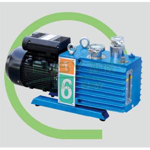 真空泵,直联旋片式,含强制防返油装置,2XZ-6C,单相,抽气速度:6L/S