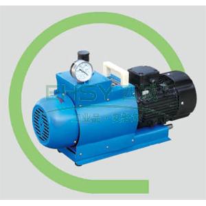 真空泵,无油旋片式,WX-4,三相,抽气速度:4L/S,外形尺寸:510x190x330mm