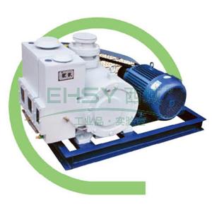真空泵,旋片式,2X-100A,三相,抽气速度:100L/S,转速:360rpm