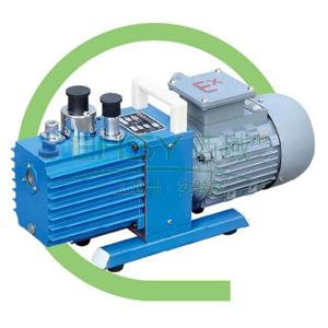 真空泵,防爆,直联旋片式,2XZF-0.5,三相,抽气速度:0.5L/S,外形尺寸:447x168x260mm