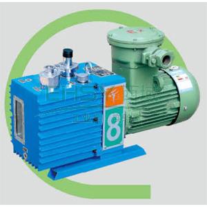 真空泵,防爆,直联旋片式,含强制防返油装置,2XZF-8C,三相,抽气速度:8L/S