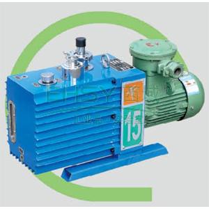 真空泵,防爆,直联旋片式,含强制防返油装置,2XZF-15C,三相,抽气速度:15L/S