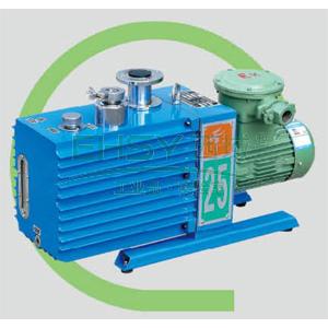 真空泵,防爆,直联旋片式,含强制防返油装置,2XZF-25C,三相,抽气速度:25L/S