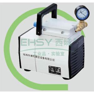 无油隔膜真空泵,GM-0.5,负压,抽气速度:30L/S,外形尺寸:250x135x210mm