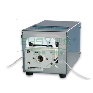 基本调速型蠕动泵,BT50S(不锈钢304机箱)泵头DG10-1(10滚轮),单通道流量(毫升/分钟)0.00016~13,通道数量1