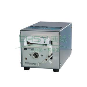 基本调速型蠕动泵,BT100S(不锈钢304机箱)泵头DG6-2(6滚轮),单通道流量(毫升/分钟)0.00016~49,通道数量2