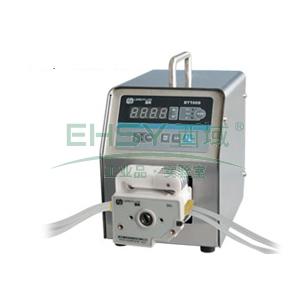 基本调速型蠕动泵,BT100S(不锈钢304机箱)泵头DT10-48,单通道流量(毫升/分钟)0.0002~82,通道数量4