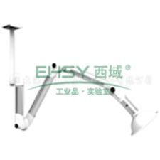 三节万向抽气罩(关节铝合金,PP罩头),活动半径1200mm,悬挂式