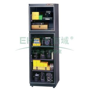 行家级电子防潮柜,25-55%RH,HDL-258,255L