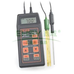 pH测定仪/ORP测定仪/温度测定仪,哈纳 便携式防水型测定仪,HI8424