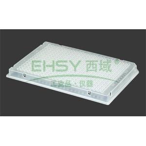 AXYGEN透明PCR板,384孔,半裙边,10块/包