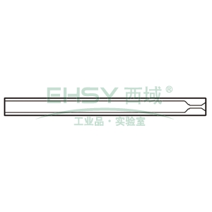CrossLab Ultra Inert liner, 3.4mm ID Split/Splitless w/ single taper, 5/pk, V-B