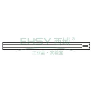CrossLab Ultra Inert liner, 2mm ID Splitless w/ single taper, 5/pk, V-B