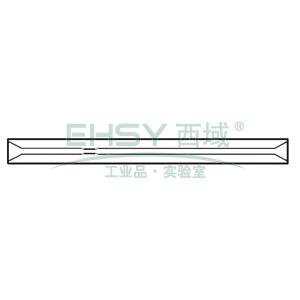 CrossLab Ultra Inert liner, SPI, 0.8mmID, 0.5mm restriction, 0.53mm ID on-column, 5/pk, V-B