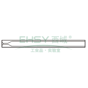 CrossLab Ultra Inert liner, 3.4mm ID Split/Splitless w/ single taper, 5/pk, SHM