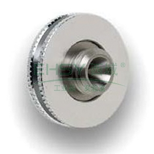 CrossLab column nut, brass, 2/pk, V-B