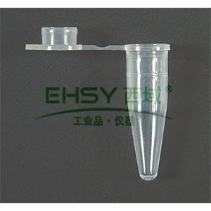 PCR薄壁管,0.5ml,杂色,平盖,1000支/包