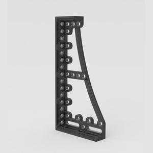 Siegmund焊接用止挡和夹紧角800GK  右 376x95x800mm