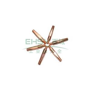 导电嘴,φ0.8,M6×25,欧式,紫铜