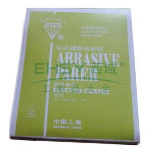 氧化铝耐水砂纸,600#,100张/包