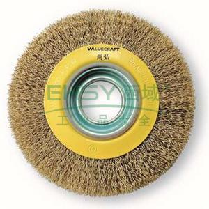 尚弘VALUECRAFT曲丝机用平型钢丝刷,576062-3008,10只/包