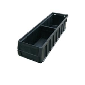 三威 防静电元件盒,400*117*90mm,分隔式,黑色