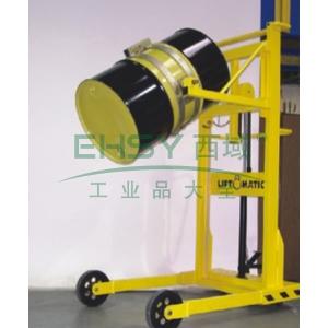 汉利 标准型圆筒旋转搬运车,额定载荷(kg):380/桶,长*宽*高(mm):1530*980*2020