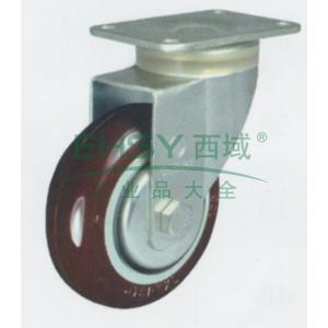申牌 3.5寸尼龙中型脚轮,平底万向 载重(kg):115 轮宽(mm):32 全高(mm):120,3.5寸尼龙轮活动轮