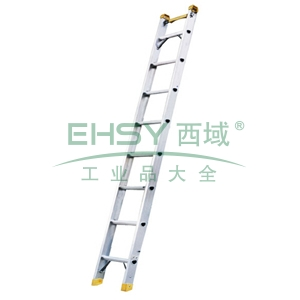 铝合金单侧梯,全长:2.5m,自重:6.4kg