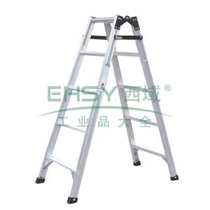 铝合金七阶直马梯,伸长:4.12m,折长:2.08m,自重:10.0kg