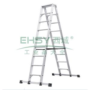 铝合金双侧梯,全长:2.0m,自重:14.2kg