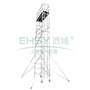 铝合金单宽脚手架, 0.75   2米(踏板高度)