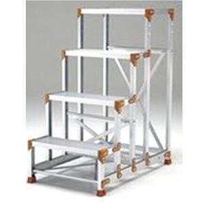 PICA 花纹板踏板作业台,FG MAX 150kg 作业台FG MAX 150kg,FG-4612CP