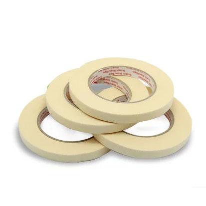3M 单面美纹纸高温遮蔽胶带, 白色 宽度12mm,型号:2142-12mm