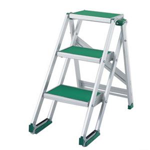 PICA 宽幅梯台 带防滑垫折叠式作业台 CLS  MAX 150kg 折叠式作业台高度:0.75m 重量:9.5kg,CLS-3