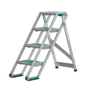 PICA 宽幅梯台 带防滑垫折叠式作业台 CLS  MAX 150kg 折叠式作业台高度:1.00m 重量:11.5kg,CLS-4