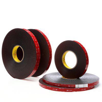 3M VHB胶带,  黑色 宽度7mm 长度33m