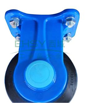 """定向轮,4""""(微静音)日本静音塑料手推车用,150kg"""