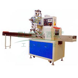 下走纸旋转式自动枕式包装机,电源220V/2.8KVA 薄膜宽度350mm
