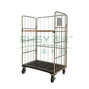 物流台车,外部尺寸(mm):950*800*1700,承重(kg):500