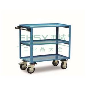 虎力 钢制三层工具推车,载重:350kg,台板尺寸(mm):900*500