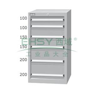 标准型工具柜,高H*宽W*深D:1025*566*607,抽屉荷重(kg):50,EHA-10061