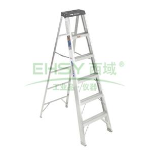 稳耐 铝合金单侧梯,梯长1.19m,额定载重136KG(售完即止)