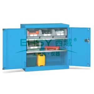 层板式置物柜, 1023×555×1000mm(二块层板)蓝色