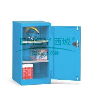层板式置物柜, 564×598×1000mm(二块层板),蓝色