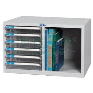 文件柜,透明 380×540×346,6抽屉