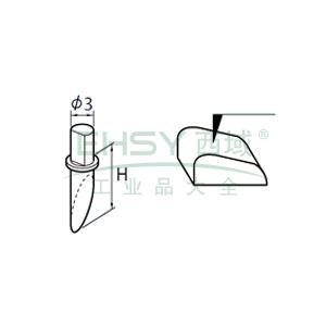 三丰 单切面测针,SPH-61(354883),轮廓测量仪选件