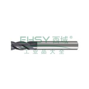 上工 整体硬质合金铣刀,Φ18 四刃加长型